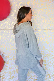 Takes Me Back Sweatshirt- Grey
