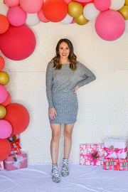 On The Go Dress- Grey