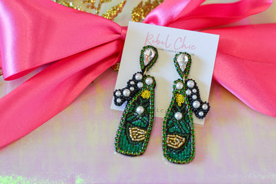 Champagne Bubbles Earrings