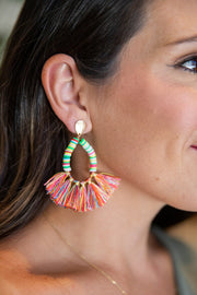 Weekend Ready Earrings- Rainbow