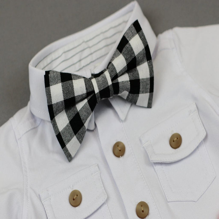 Gingham All Over Bowtie