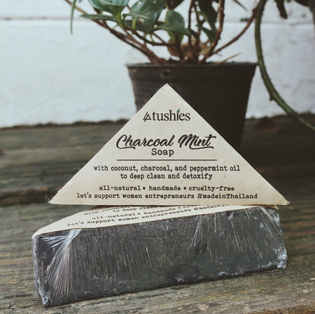 Real Charcoal Mint Soap