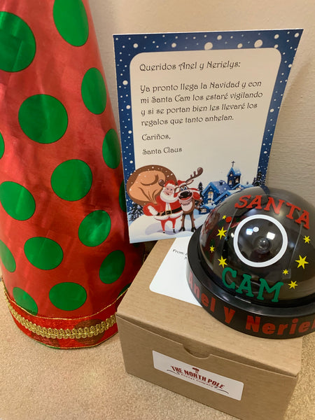 Personalized Santa Cam