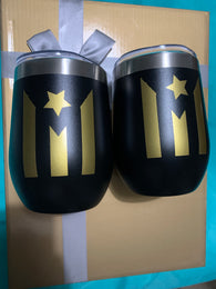 2 Wine Cups Set