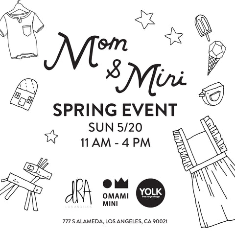 Mom + Mini | CURRENT Kids Swimwear Pop Up Event
