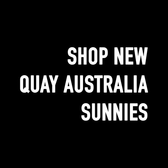 Shop Quay Australia Sunglasses and Sunnies at CURRENT.
