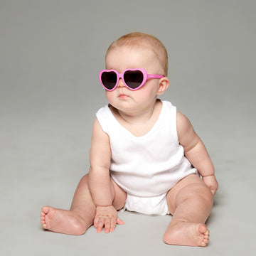 Bebe Baby Sunglasses in Pink by Teeny Tiny Optics at CURRENT