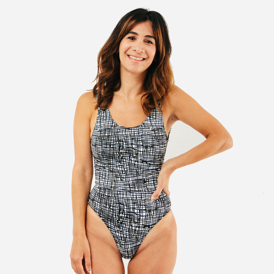 Bondi Womens One Piece Swimsuit in Tangled by CURRENT | Mommy & Me Swim | Current Label Swimwear