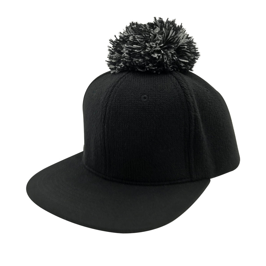 Deacon Snapback Hat in Black by CURRENT