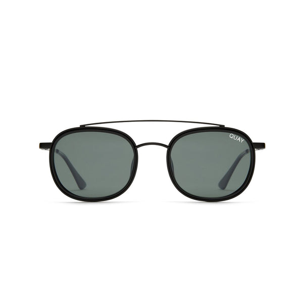 9fb5b80d201 Got It Covered Sunglasses in Black Green by Quay Australia