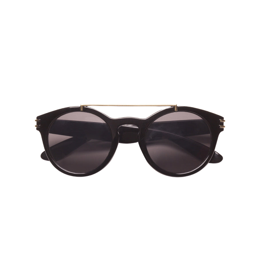 Harper Kids Sunglasses in Black by Teeny Tiny Optics by CURRENT