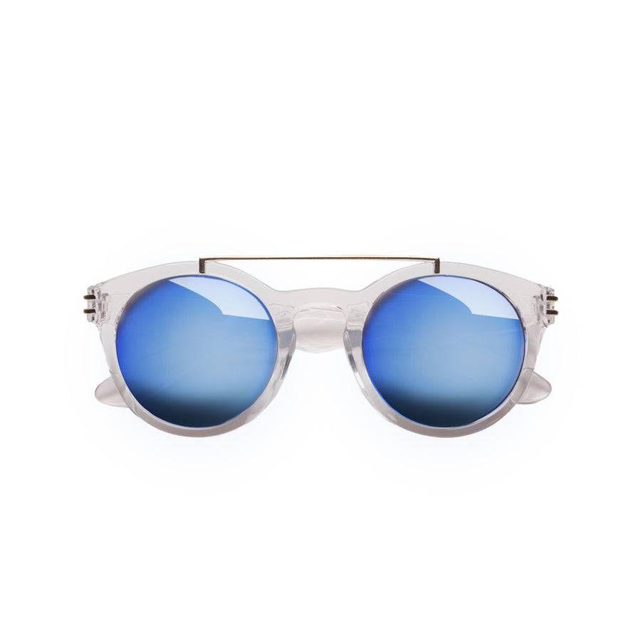 Harper Kids Sunglasses in Crystal by Teeny Tiny Optics at CURRENT