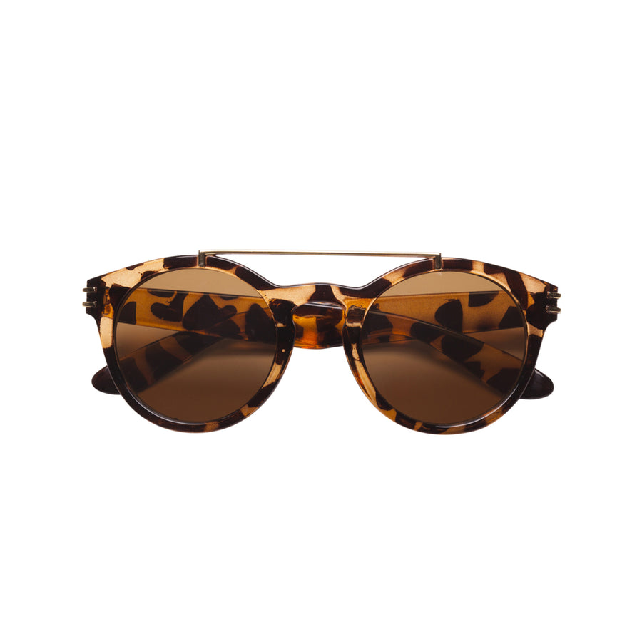 Harper Kids Sunglasses in Tortoise by Teeny Tiny Optics at CURRENT