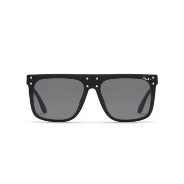 Hidden Hills Sunglasses in Black from #QUAYxKYLIE by Quay Australia at CURRENT