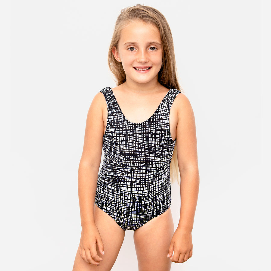 Isla Signature Girls One Piece Swimsuit in Tangled by CURRENT