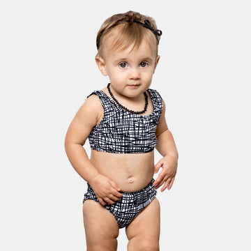 Isla Signature Baby Girls Bikini Swimsuit in Tangled by CURRENT