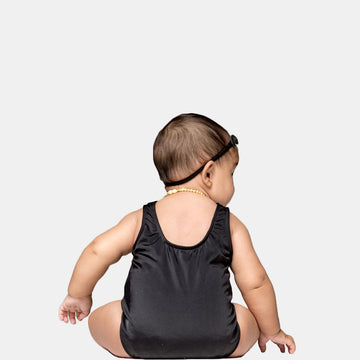 Isla Signature Baby Girls One Piece Swimsuit in Black by CURRENT