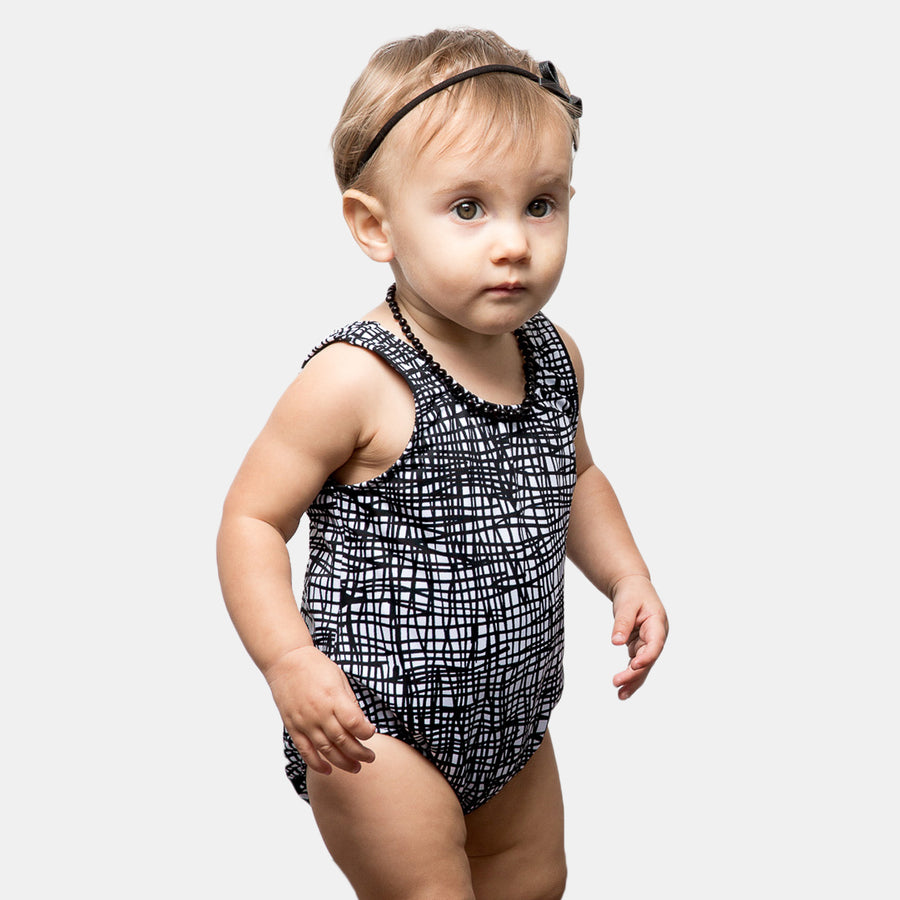 Isla Signature Baby Girls One Piece Swimsuit in Tangled by CURRENT