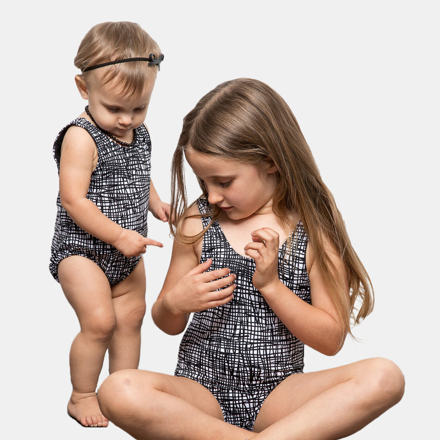 Isla Signature Girls Swimsuits in Tangled by CURRENT
