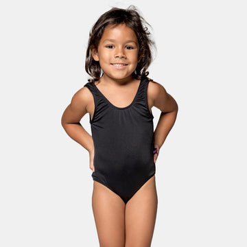 Isla Signature Girls One Piece Swimsuit in Black by CURRENT