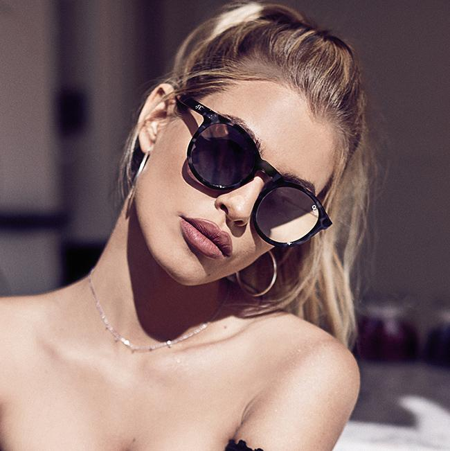Kosha Comeback Sunglasses for Women in Tortoise with Gold by Quay Australia at CURRENT