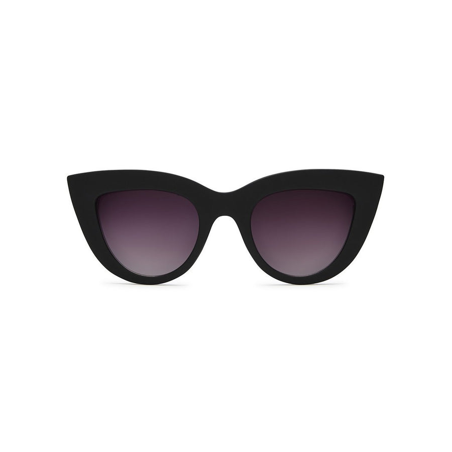 Kitti Sunglasses in Black by Quay Australia at CURRENT