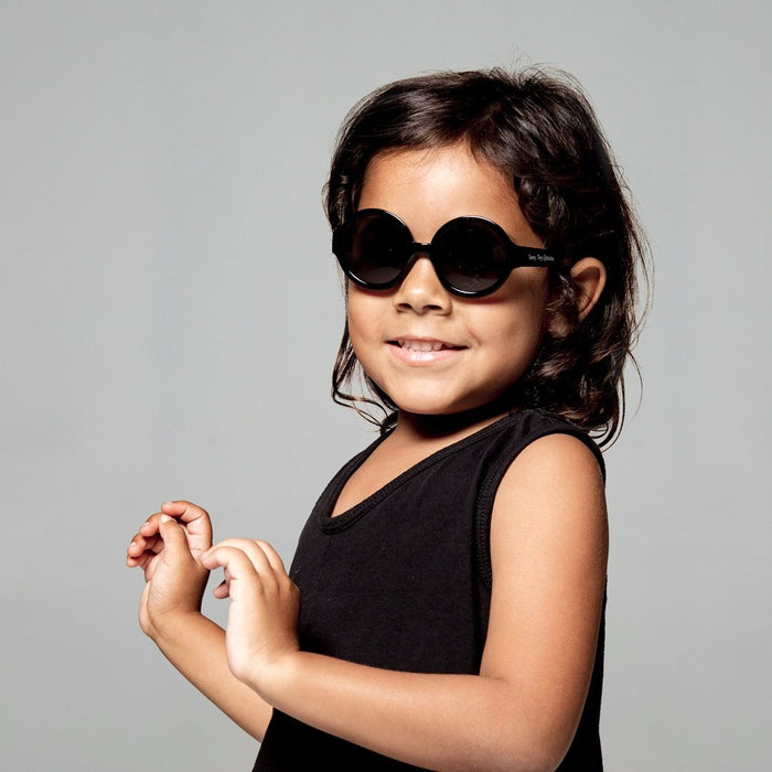Kylie Toddler Sunglasses in Black by Teeny Tiny Optics at CURRENT