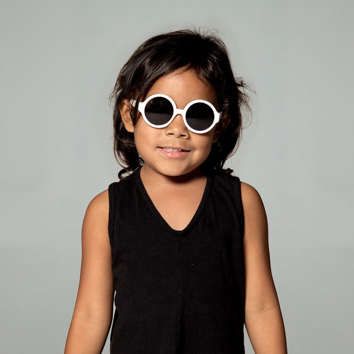 Kylie Toddler Sunglasses in White by Teeny Tiny Optics at CURRENT