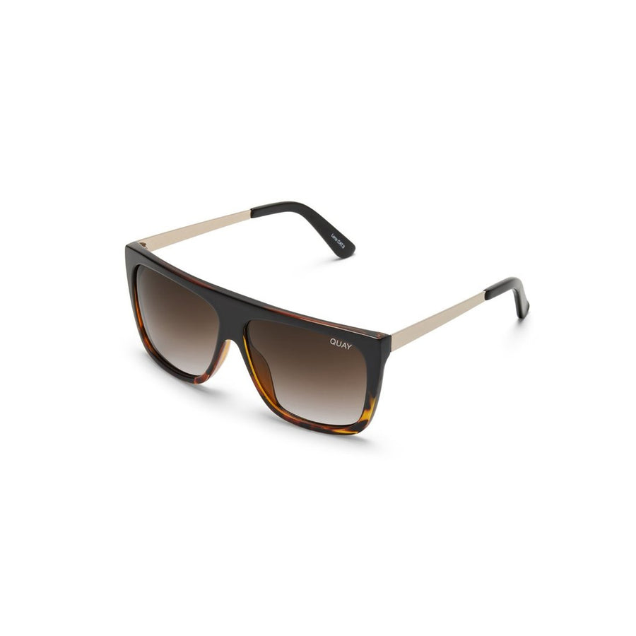 OTL II Sunglasses in Black Tort from #QUAYxDESI by Quay Australia at CURRENT