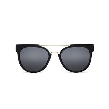 Odin Sunglasses in Black by Quay Australia at CURRENT