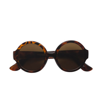 Olive Kids Sunglasses in Brown Tortoise by Teeny Tiny Optics at CURRENT