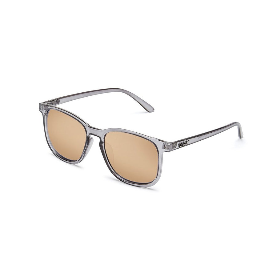 Oxford Sunglasses in Grey by Quay Australia at CURRENT