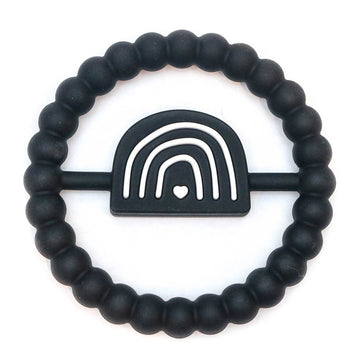 Rainbow Ring Teether in Black