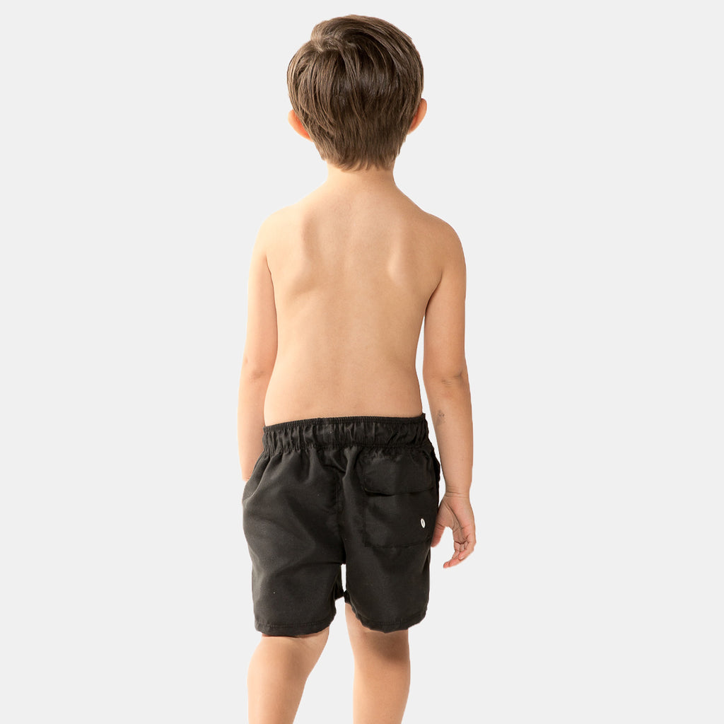 Reef Signature Boys Swim Shorts in Black by CURRENT