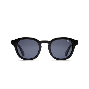 Walk On Sunglasses for Men and Women in Black with Smoke by Quay Australia at CURRENT