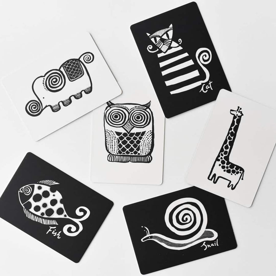Art Cards for Baby - The Original Collection by Wee Gallery at CURRENT LABEL | Monochrome Gifts