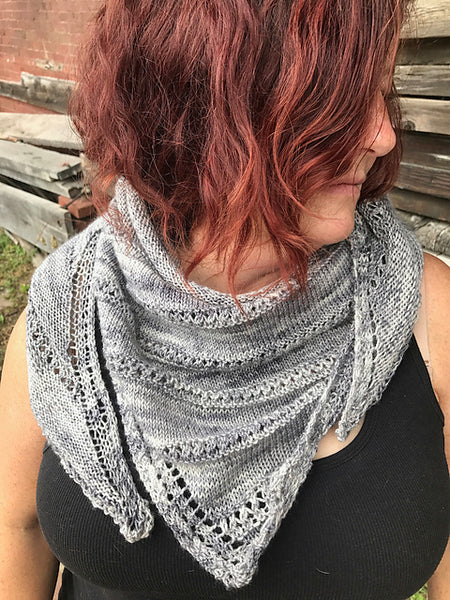 Anthra shawl pattern (printed)