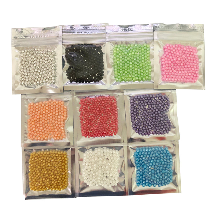 10g Small 10 color beads Edible pearl SUGAR