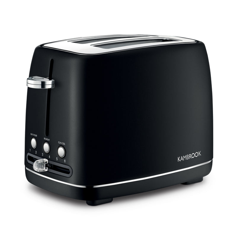 2 Slice Stainless Steel Toaster
