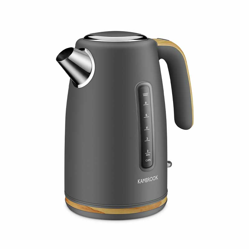 Scandi Chic™ - 1.7L BPA Free Kettle (Charcoal)