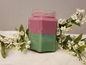 Hexagon Soy Candle (double layer)