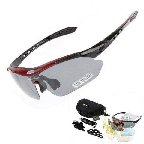 Polarized Cycling & Running Sports Glasses