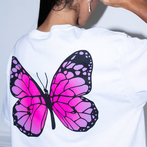 Honour LDN Butterfly T-Shirt | DERNIER CRI STORE UK