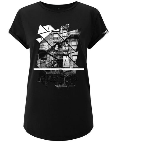 Modern Streets Apparel Womens Black Back Alley T-Shirt | DERNIER CRI STORE UK