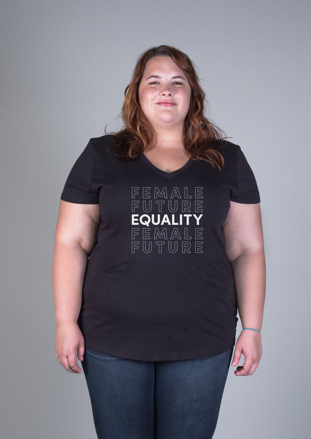 Female Future Equality V-neck