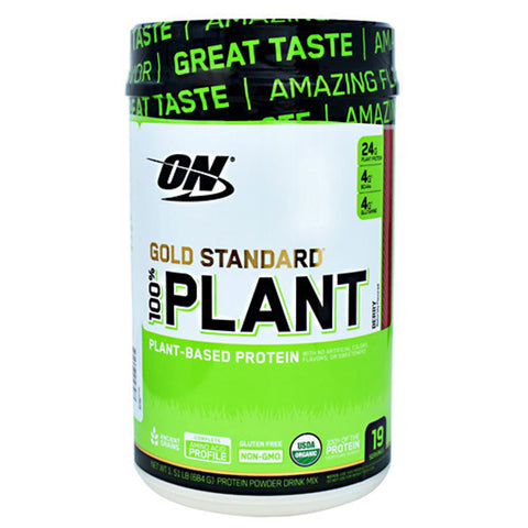 Image of Optimum Nutrtion 100% Plant Based Protein - Stevia Sweetened