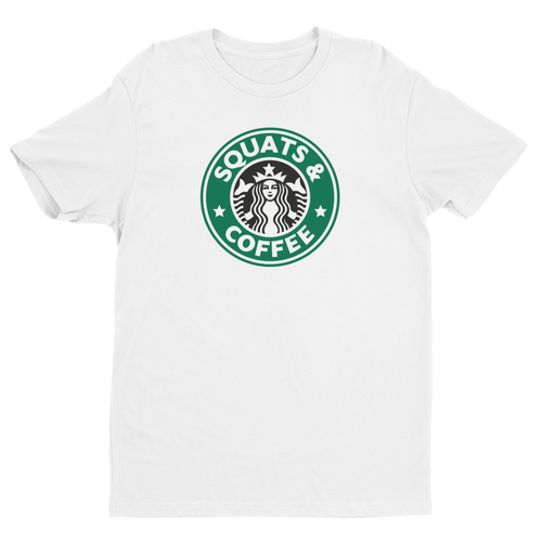 Squats & Coffee Short Sleeve T-shirt