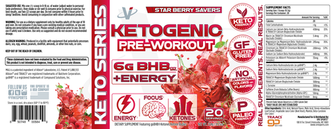 Image of VMI Ketogenic Pre-Workout 20 Servings