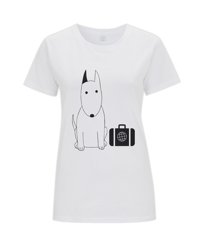 Women's T-Shirt Rocky the Traveller Business Class