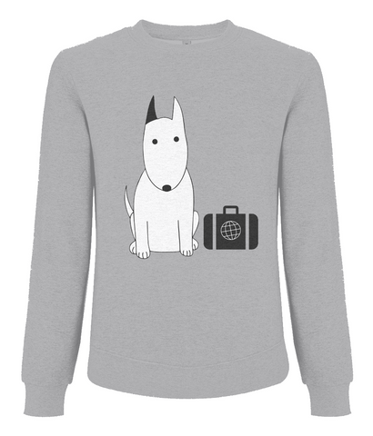 Men's Sweatshirt Rocky the Business Traveller